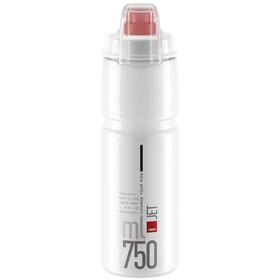 Elite Jet Plus Drinking Bottle 750ml, clear/red logo
